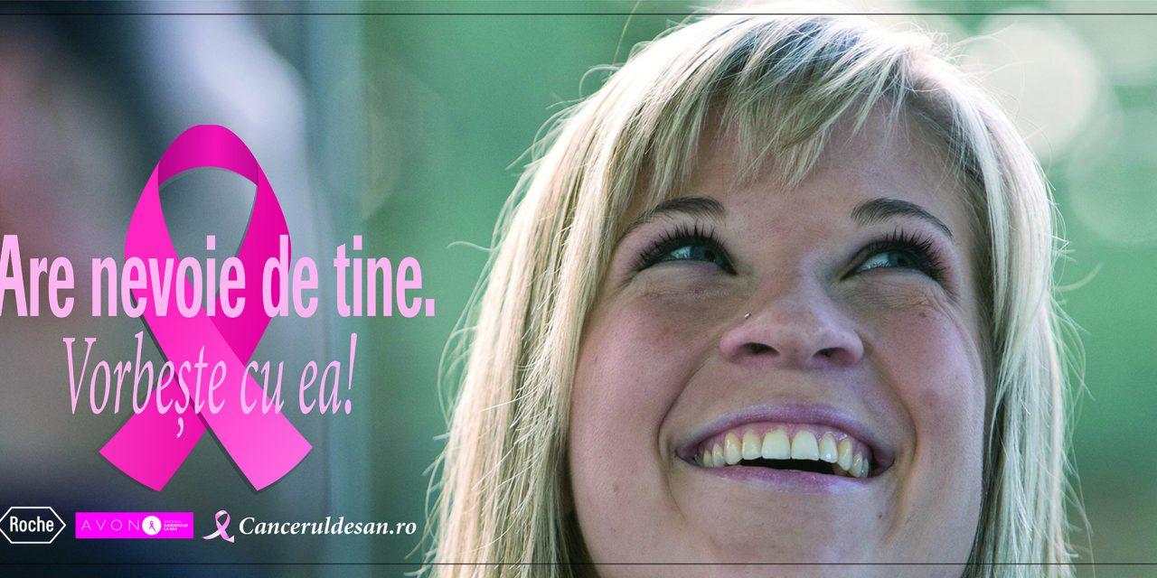 """A fost lansată campania """"Are nevoie de tine. Vorbeşte cu EA!"""", în sprijinul pacientelor cu cancer de sân"""