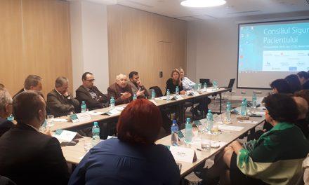 Cea de-a doua editie a Consiliului Siguranței Pacientului a avut loc la București