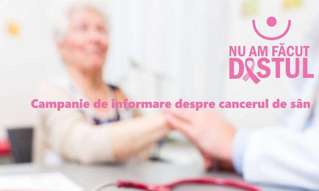 Peste 850 de femei au făcut ecografii mamare într-o campanie a FABC, trei fiind diagnosticate cu cancer de sân