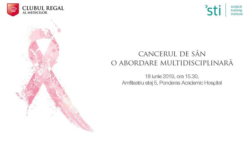 """""""Cancerul de san – o abordare multidisciplinara"""""""