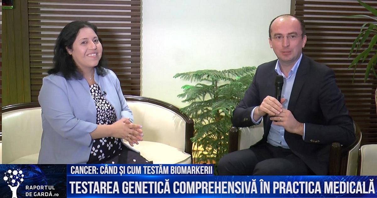 Unu-la-unu cu Dr. Marius Geantă: Dr. Mor Moscovitz, despre testarea comprehensivă genetică în cancerul pulmonar. Când și cum testăm biomarkerii?