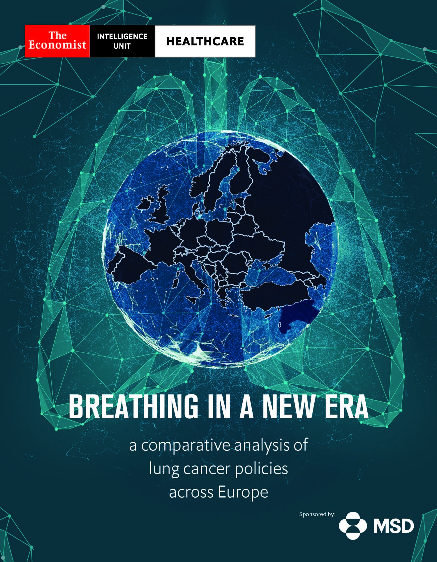 """Raport Economist Intelligence Unit (EIU):  """"Respirația într-o nouă eră: o analiză comparativă a politicilor de cancer pulmonar în Europa"""""""