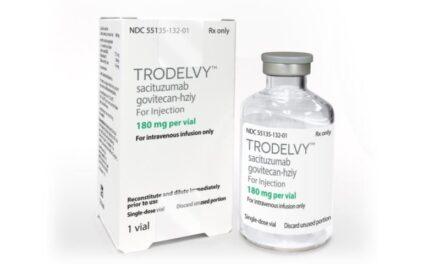 Sacituzumab govitecan, aprobat de FDA pentru tratamentul cancerului de sân triplu negativ metastatic