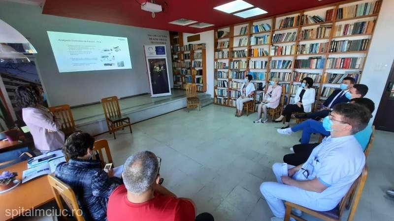 SJU Miercurea Ciuc a achiziţionat un sistem automat de administrare a citostaticelor, unic în ţară