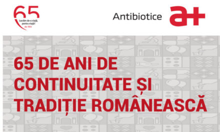 """""""65 de ani de continuitate și tradiție românească"""" este tema Webinarului aniversar Antibiotice 65 de ani din 11 decembrie"""