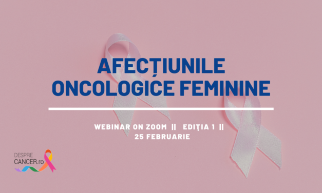 Comunitatea DespreCancer.ro: Afecțiunile oncologice feminine – tema primei întâlniri din acest an