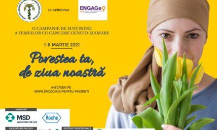 """""""Povestea ta, de ziua noastră"""" – Campaniile de susținere a femeilor cu cancere genito-mamare"""