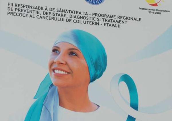 Două programe regionale de prevenire a cancerului de sân și col uterin în județele din regiunile Nord Est și Sud Est