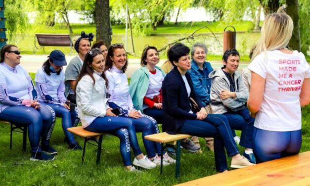 """Asociația IMUNIS a lansat programul """"RIDE ON"""", noua divizie de sport pentru pacienții cu cancer"""