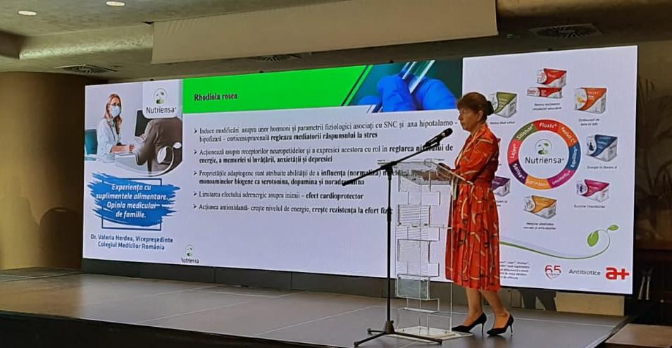 Gama de suplimente alimentare Nutriensa, prezentată la Conferința Națională de Fitoterapie Practică 2021