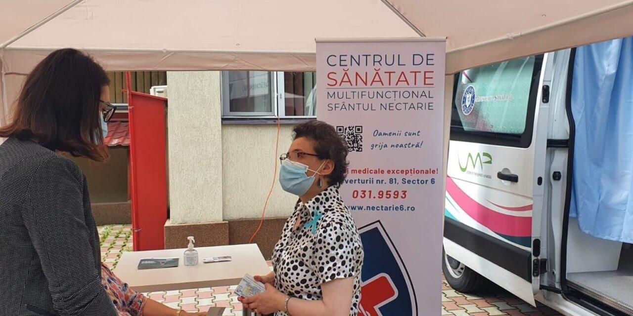 S-a dat startul campaniei de Testare gratuită Papanicolau în Sectorul 6