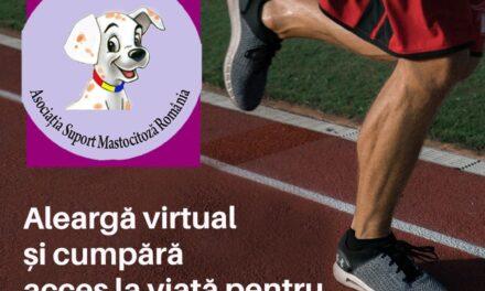 Aleargă virtual și cumpară acces la viață pentru copiii cu mastocitoză!